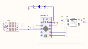 Indoor Humidity Sensor Schematics