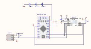 Outdoor temperature sensor schematics